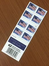 USPS New Us Flag Forever Stamps Book Of 20 $11.00 Face Value P2222 Print