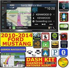 2010-2014 MUSTANG KENWOOD GARMIN NAV CARPLAY ANDROID AUTO BLUETOOTH USB STEREO