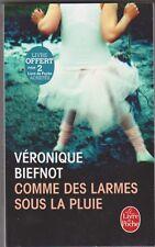 Veronique Biefnot - Comme des larmes sous la pluie - Comme neuf