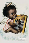 Washboard Blues by Charlot Byj (Art Print of Vintage Art) (9.5 x 13.5)