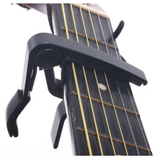 Classic Guitar Quick Change Clamp Key Black Guitar Capo For Acoustic Electric