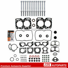 REF# HS26170PT-1 For 99-05 Subaru 2.5L SOHC MLS Head Gasket Head bolts Set EJ25