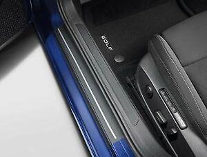 Genuine VW Door Sill Protective Film / Scuff Plates - Golf Mk8  (2021-ON) GTI R