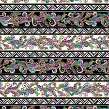 Many Angles Black/Multi- Dog On It - 100% Cotton Quilting Fabric
