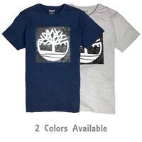 Timberland Men's Short Sleeve Tree Logo Summer T-Shirt A1LMR