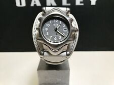 Oakley Saddleback Men's Watch, White, Ivory, Sapphire Crystal, Swiss Movement