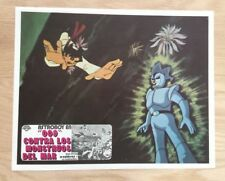 VINTAGE MEXICAN MOVIE POSTER ASTRO BOY CYBORG 009 JAPANESE ANIMATION RARE