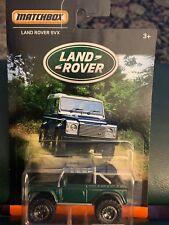 Matchbox Land Rover SVX Green 4x4 SUV Truck