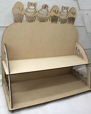 M588 CUP CAKE DISPLAY STAND 2 TIER doughnut donut candy bar wedding party table