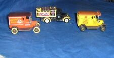 3- Lledo Diecast Commercial Trucks Hershey's, Marcol Product, Table Supply