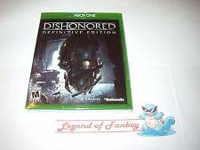 * New * Sealed * Dishonored: Definitive Edition - Microsoft Xbox One 1 Bethesda