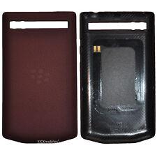 New Porsche Design Leather Battery Door Cover Pomegranate for Blackberry P'9983