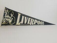 Vintage The Beatles Pennant LiverPool  (PLEASE READ DESCRIPTION)