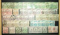 Ungarn Briefmarken 98x gestempelt Uralt Lot