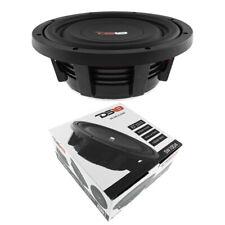 """10"""" superficial Monte de Subwoofer 1000W Dual 4 Ohm Pro Audio Altavoz de bajos DS18 SW10D4"""