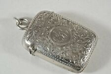 Sterling Silver Match Safe, S. Blanckensee