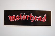 """Motorhead Sticker Decal Window Indoor/Outdoor Approx. 6.5"""" X 2.5"""" (364)"""