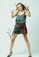Fearne COTTON Signed Autograph 12x8 Photo AFTAL COA Celebrity Juice TV Presenter