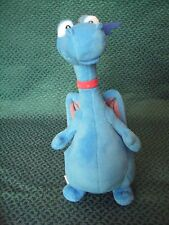 "Disney Store Doc McStuffins Stuffy dragon soft beanie toy 9"" tall approx VGC"