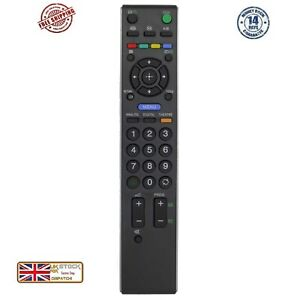 Sony TV Remote Control RM-ED0009 RM-ED-009 RMED009 Bravia LCD Controller UK