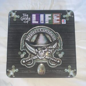 The Game of Life: Pirates of the Caribbean Dead Man Tell No Tales Game Tin