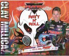 2007 Clay Millican RATT Top Fuel NHRA postcard