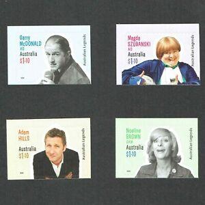 2020 Australian Legends of Comedy 4 No. $1.10 Self Adhesive Bklt Stamps. MUH/MNH