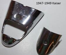 1947-1949 Kaiser Frazer Trunk Handle License Cover Bezel P/N's 21596