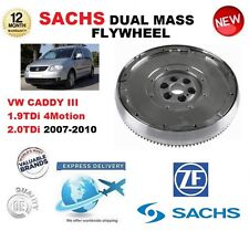 FOR VW CADDY III 1.9 TDi 4Motion 2.0 TDi 2007-2010 SACHS DMF DUAL MASS FLYWHEEL