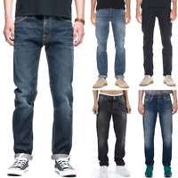 Nudie Mens Regular Tapered Fit Jeans | new with small manufacturing defects