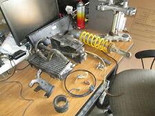 1995 Yamaha YZ125 Shock Radiator Triple Tree Kill Switch Etc Parts Lot #2
