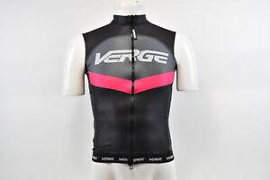 Brand New Verge Primo Women's Aqua Tech Cycling Vest, Black/Pink/Grey, Medium