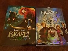 Disney's Brave and Frozen DVD Lot 2