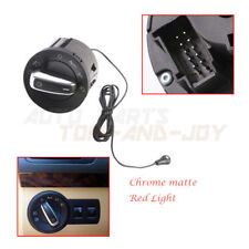 AUTO Headlight Switch &Light Sensor-Chrome Matte For VW Golf MK6 /Tiguan /Jetta