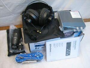 Presonus Audiobox 96 Studio USB Recording Interface Mic Headphones NO Software