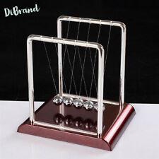 Newtons Cradle Metal Pendulum Balls Desk Table Decor Steel Mini Size Balance