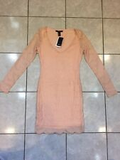 Party Dress Long Sleeve Short Light Pink Size S ***NWT***