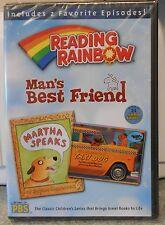 Reading Rainbow - Mans Best Friend (DVD, 2006) NEW
