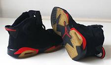 Nike Air Jordan Original Black Basketball Trainers - Lads Mens UK Size 7 - Rare!