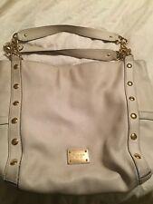 Michael Kors Handbag Beige Goldtone Hardware