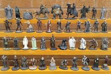 DE AGOSTINI LORD OF THE RINGS - SELECTION OF PEWTER FIGURES.