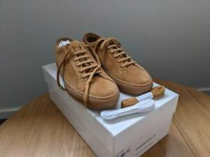Common Projects Achilles Low Suede Tan EU39 Free Shpping