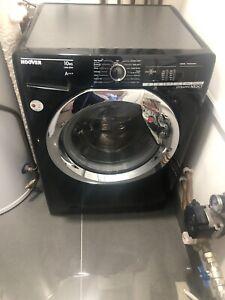 Hoover Dynamic Next Washing Machine 10kg - Black 1400 Spin 10kg