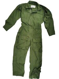 Swedish Military Flight Suit Flyer Boiler Coverall Genuine Army Air Force 176-55