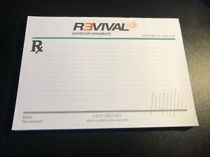 Eminem Revival Promo Only Note Pad 2017 Rare