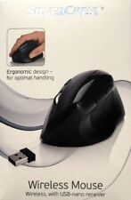 New SilverCrest Wireless Mouse With USB- Nano Receiver
