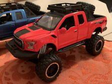 Ford F-150 Raptor RED Truck 1:32 Lights + Sound + Suspension