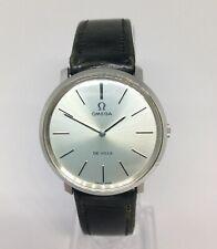 Vintage Men's OMEGA De Ville Mechanical Watch. 33mm Silver Dial.