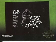 Night Of The Living Dead Gold Foil Chase Card  F6   Fear - that deadliest of .