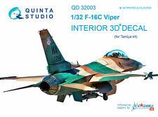 Quinta Studio QD32003 1/32 F-16C Interior Set w/free shipping